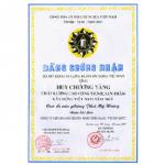 HUY CHƯƠNG VÀNG CHẤT LƯỢNG CAO CÔNG TRÌNH, SẢN PHẨM XÂY DỰNG VIỆT NAM NĂM 2004 (CAO ỐC VP PHÚ MỸ HƯNG)