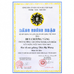 VIETNAM CONSTRUCTION PROJECT QUALITY GOLD AWARD IN 2004 (PHU MY HUNG OFFICE BUILDING)