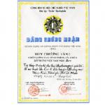 HUY CHƯƠNG VÀNG CHẤT LƯỢNG CAO CÔNG TRÌNH,SẢN PHẨM XÂY DỰNG VIỆT NAM NĂM 2000 (KHU CAO ỐC THUẬN KIỀU)