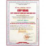 THE TOP AWARD IN VIETNAM CONSTRUCTION INDUSTRY IN 2010 (SKY GARDEN 2)