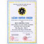 VIETNAM CONSTRUCTION PROJECT QUALITY GOLD AWARD 2004 (ONG LON BRIDGE)