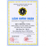 VIETNAM CONSTRUCTION PROJECT QUALITY GOLD AWARD 2004 (XOM CUI BRIDGE)