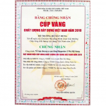 2010年胡志明市天空花园二期住宅 获越南建筑行业最高奖金