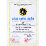 2004年南西贡阮文灵大道  大翁桥获越南建筑工程质量金奖